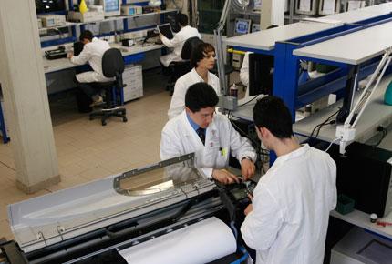 laboratorio riparazioni BMA Euroservice firenze