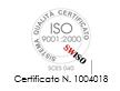 Certificazione ISO 9001-2000 BMA Euroservice Firenze